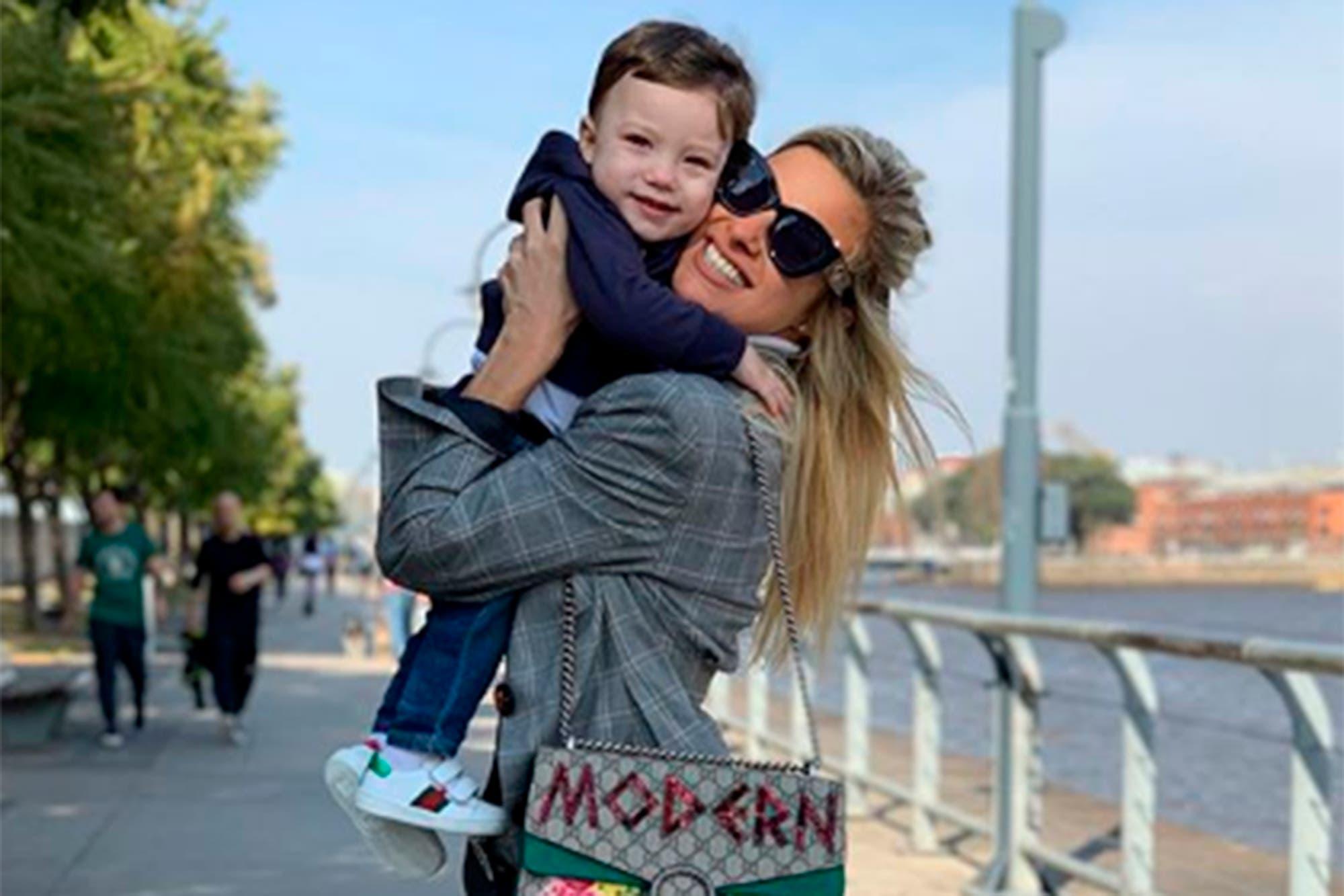 """Ailén Bechara: """"Mi hijo necesita una figura paterna cerca y no una vez por mes"""""""