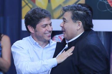 El gobernador Axel Kicillof respaldó a Mario Ishii