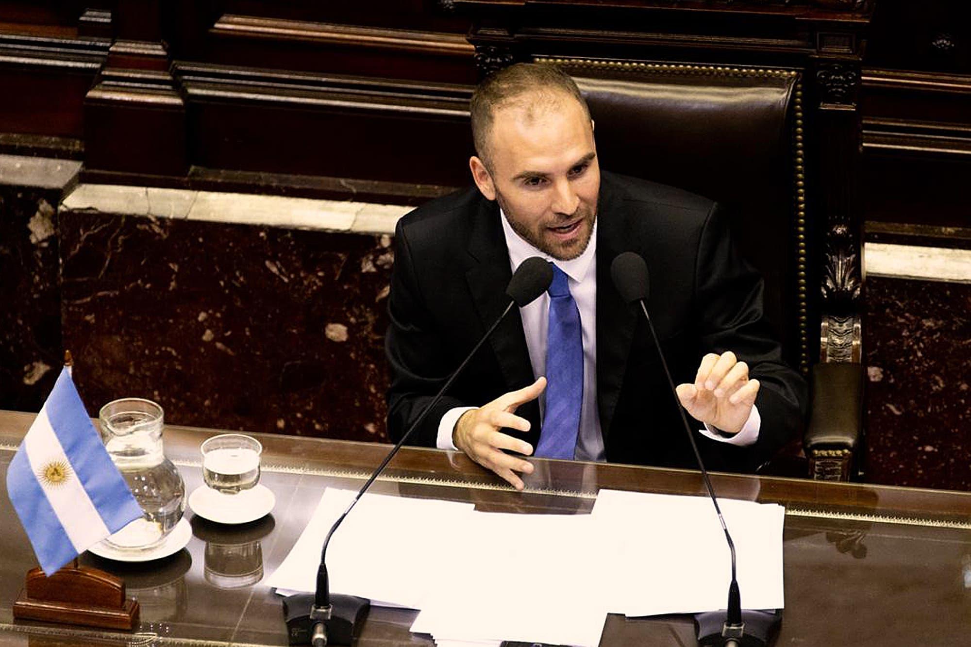 """Martín Guzmán, durante la sesión por la deuda en el Congreso: """"No es sostenible una reducción del déficit fiscal en 2020"""""""
