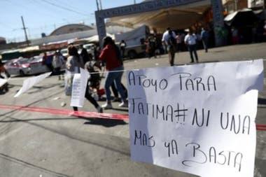 Las muerte de Fátima desencadenó protestas en México