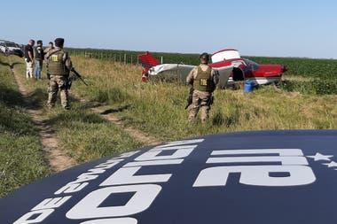 La avioneta estrellada en el norte de Santa Fe
