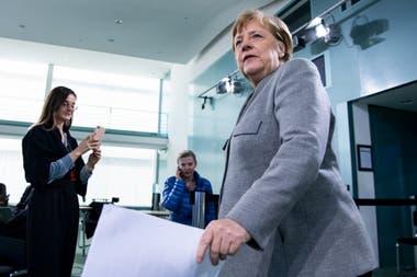La canciller alemana Angela Merkel impulsó la reconstrucción europea