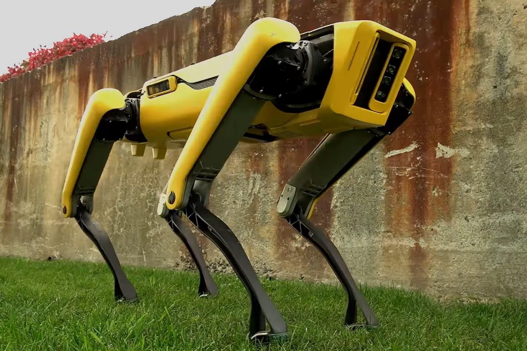 El perro robot Spot de Boston Dynamics se convierte en el nuevo guardián del distanciamiento social en espacios públicos en Singapur