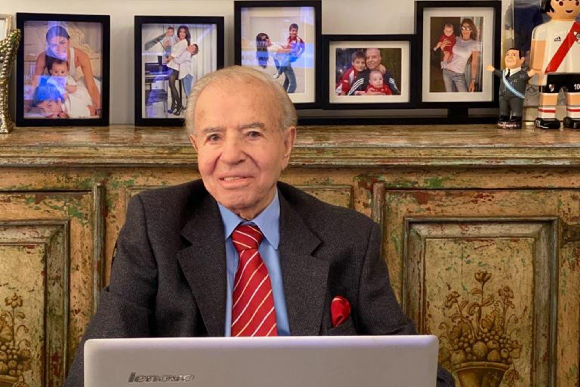 La salud de Carlos Menem: salió de la sedación y evoluciona favorablemente