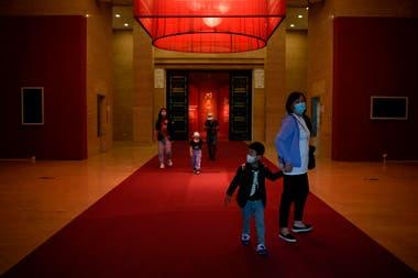 Museo Nacional de Arte de China, después de su reapertura en Beijing