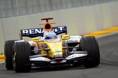 Los dos títulos de Fernando Alonso fueron en sus años en Renault