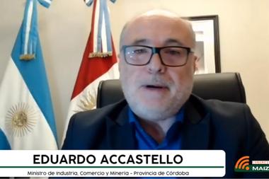 Eduardo Accastello, ministro de Industria, Comercio y Minería de Córdoba