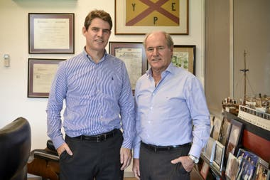 Nicolás y Federico Braun apuestan al negocio de las carnes desde la cadena La Anónima