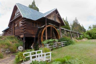 El molino Nant Fach, creado por Mervyn Evans, representa el espíritu emprendedor de los pioneros galeses en Trevelin