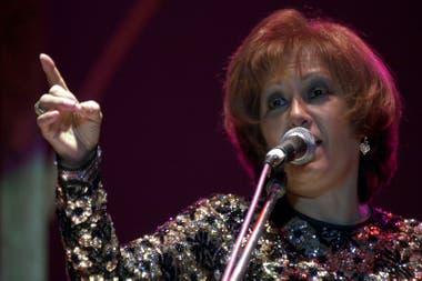 Ramona Galarza murió a los 80 años