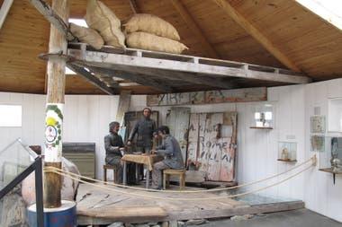 La réplica del faro de San Juan de Salvamento en Ushuaia