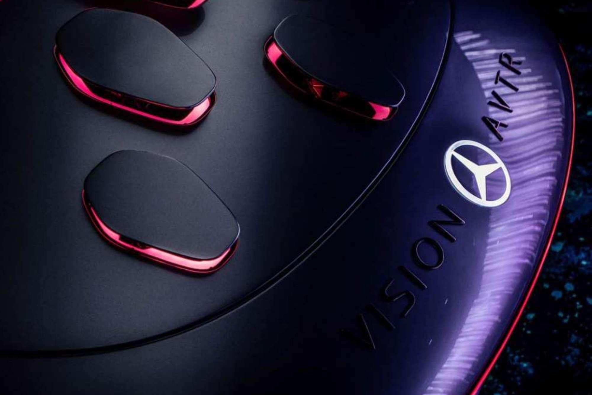 Mercedes-Benz presentó en acción su prototipo Vision Avtr: cómo se siente manejar el auto del futuro