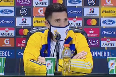 Lisandro López jugó su primer partido tras casi ocho meses