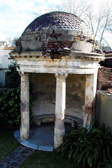 Un templete que pertenecía a predio antes que se dividieran los terrenos