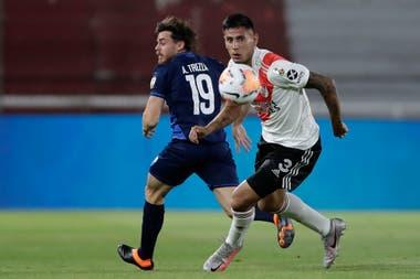 River derrotó a Nacional 2 a 0 por la ida de los cuartos de final de la Copa Libertadores