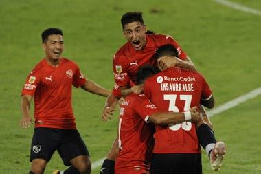 Independiente volvió a ganar y lleva dos triunfos en la Copa de la Liga.