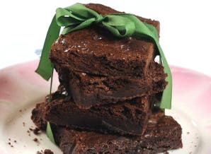 Brownies de chocolate para celíacos