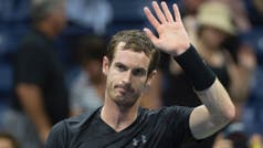 Andy Murray pasó con solvencia su debut en el US Open