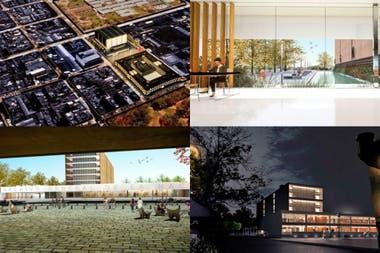Renders del proyecto ganador diseñado por tres arquitectos platenses