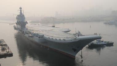 """Hasta el 001A, China solo tenía un portaaviones, el """"Liaoning"""", que comenzó a construirse en la Unión Soviética en 1985 y vendido por Ucrania a China en 1998"""