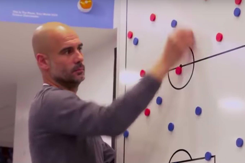 La charla de Pep Guardiola que da vuelta al mundo: la promoción para un documental de Manchester City