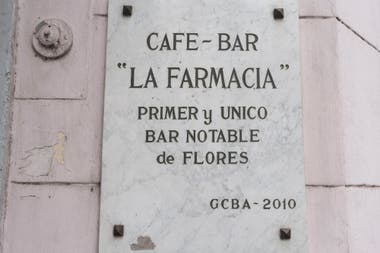 La Farmacia fue declarado bar notable en 2010
