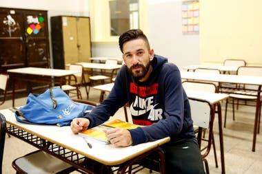 Nicolás quiere recibirse y estudiar luego una carrera corta con salida laboral