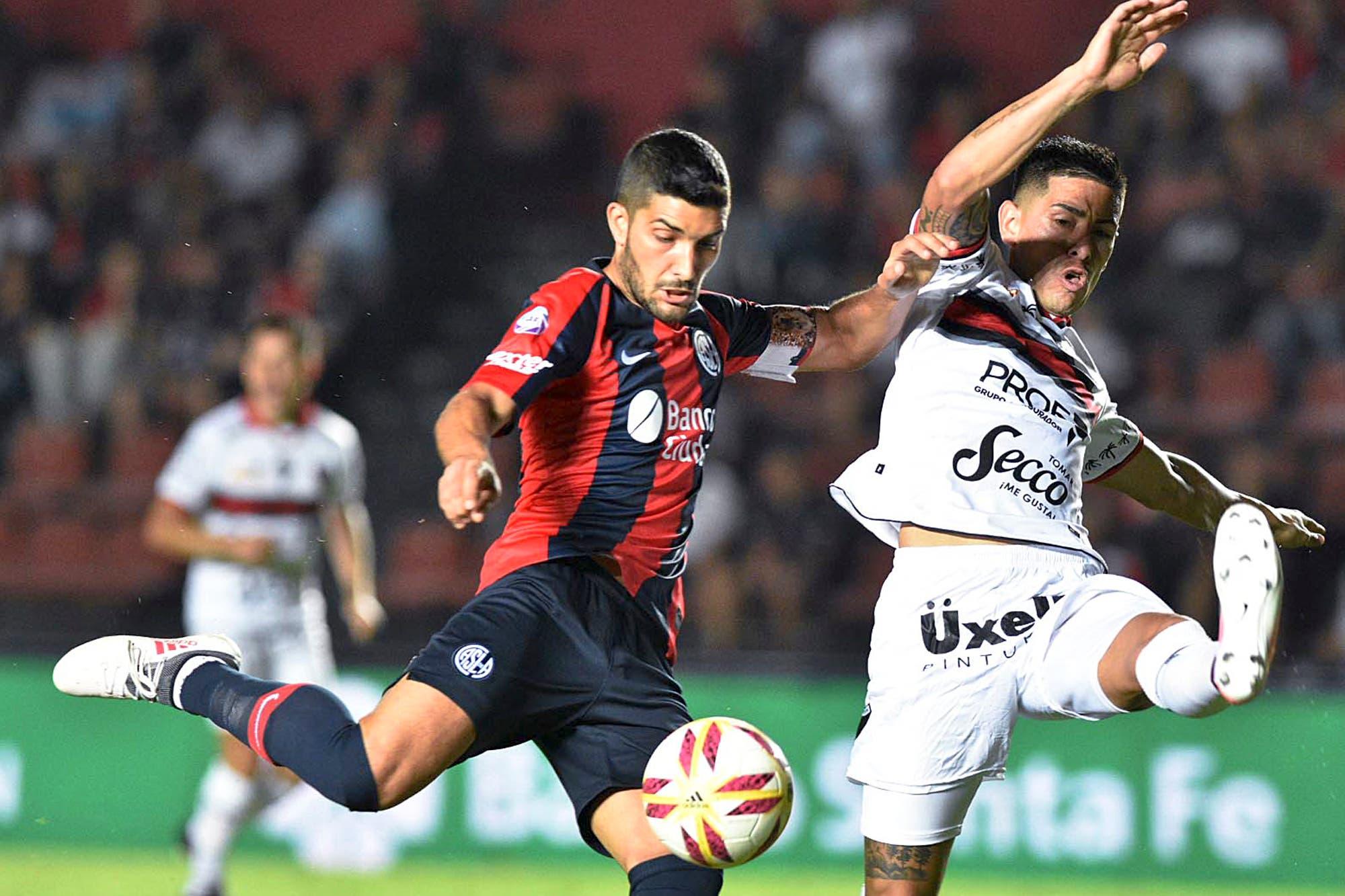 Colón-San Lorenzo, Superliga: el Ciclón gana en Santa Fe