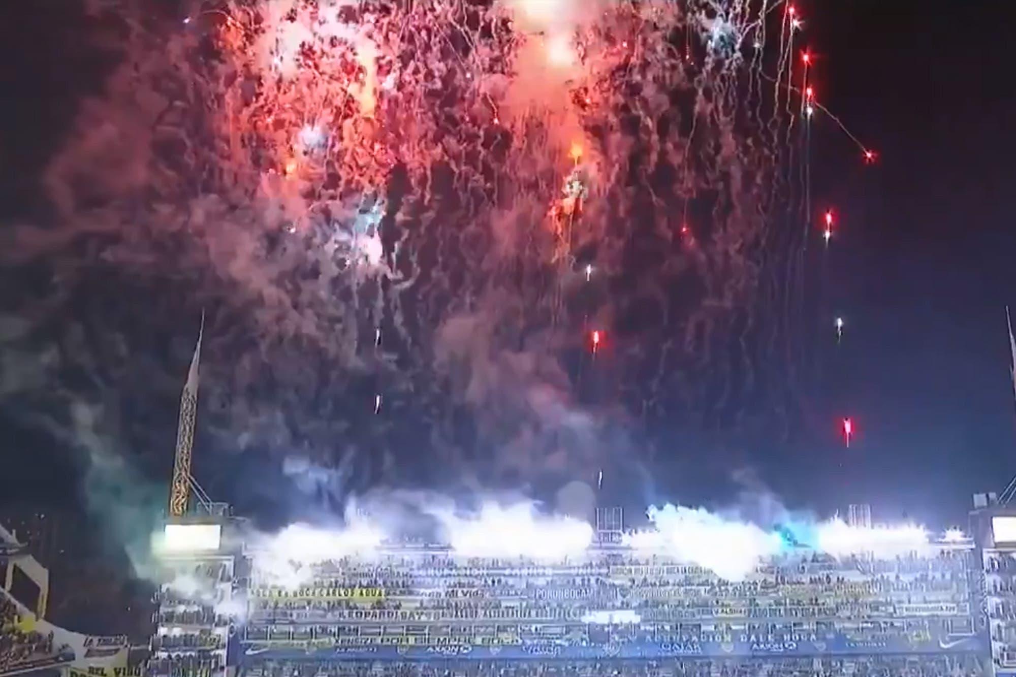 Supercopa. Boca se desahogó con un enorme festejo por el título antes de jugar con Godoy Cruz