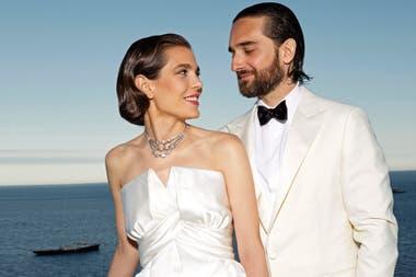 c2efc1f8baaa Las dos fiestas de boda de Charlotte Casiraghi y Dimitri Rassam - LA ...