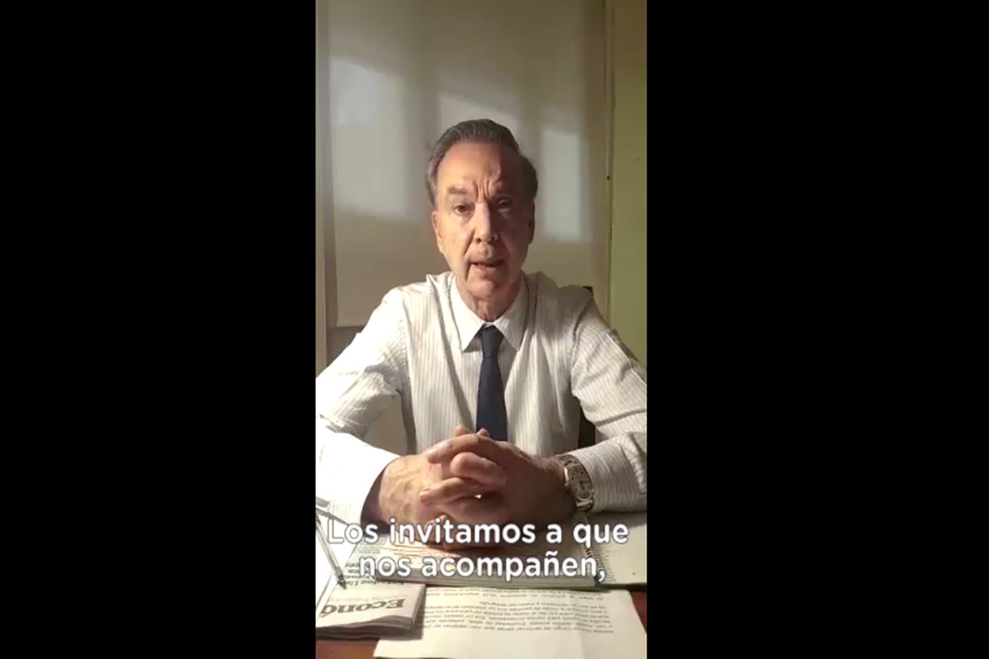 Pichetto, a la caza del voto de los empleados legislativos