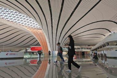 Se espera que el nuevo aeropuerto libere de tráfico al Internacional de Pekín-Capital