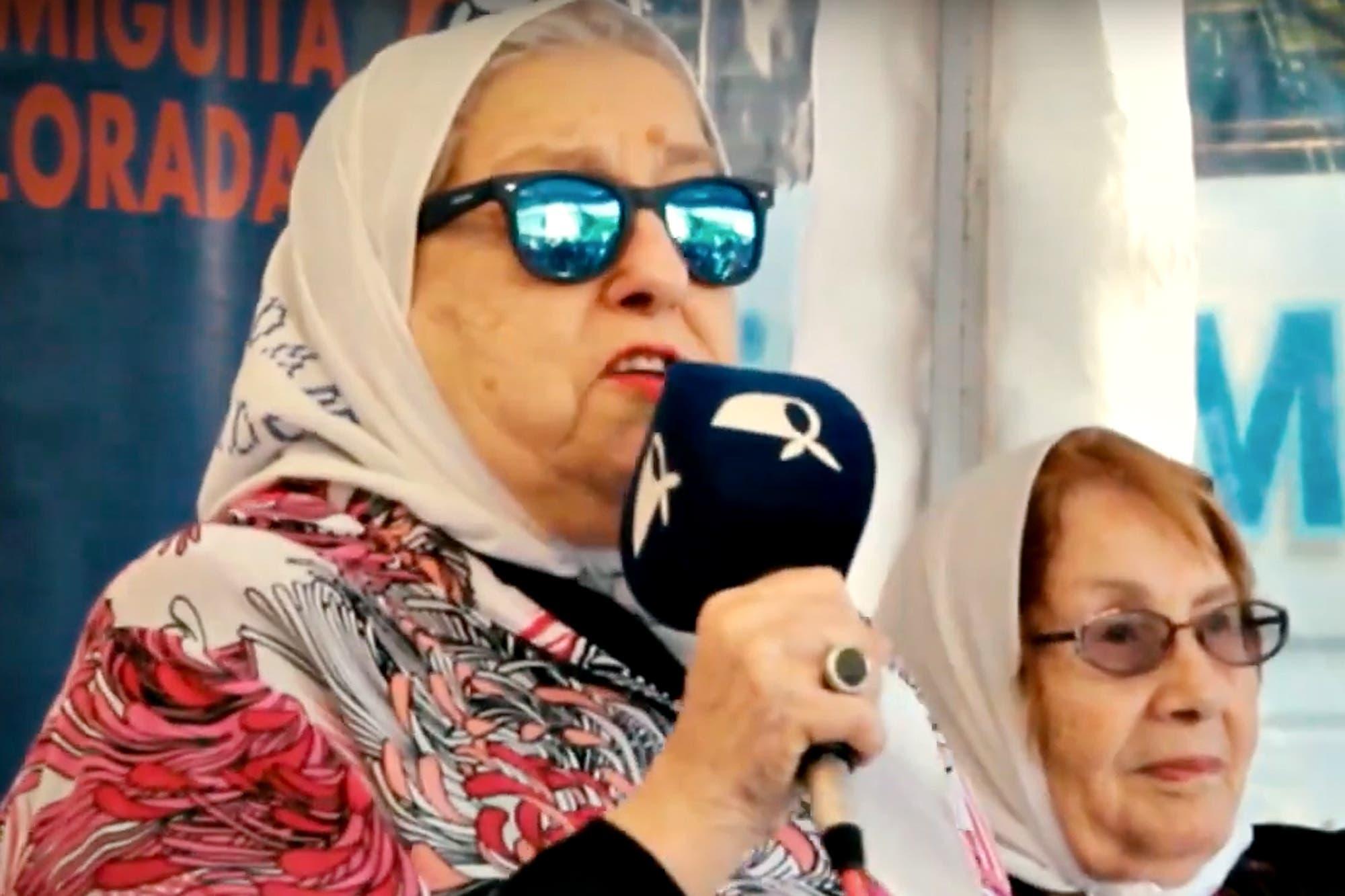 """Según Hebe de Bonafini, los votantes de Mauricio Macri son """"como un cáncer permanente del país, que te quiere comer las entrañas"""""""