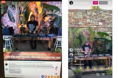 El live de Hernán Cattaneo, en Facebook e Instagram: en un mismo minuto consiguió 40 mil espectadores y, al cabo de cinco horas, más de un millón