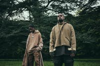Kanye West y Travis Scott se refieren a los conflictos raciales en Wash Us In The Blood