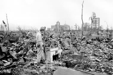 Dos semanas después, el 14 de agosto de 1945, Japón se rindió a los aliados