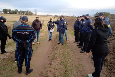 Fuerzas federales participaron de rastrillajes en las últimas semanas