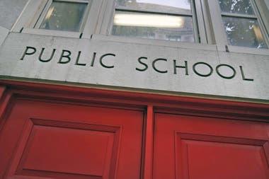 Una escuela pública en Nueva York