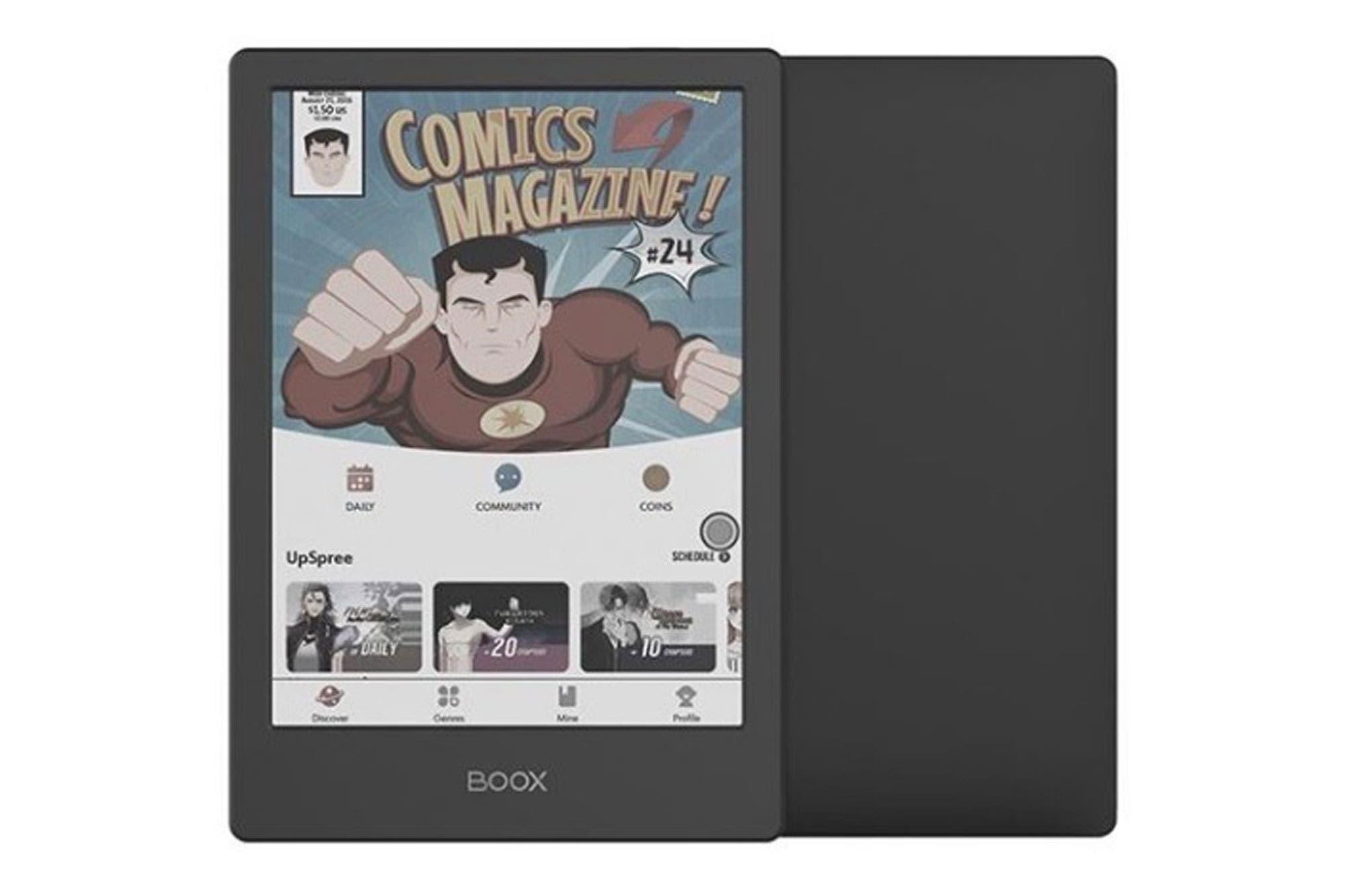 Onyx Boox Poke2: este es el lector de libros electrónicos que se anima a la pantalla a color