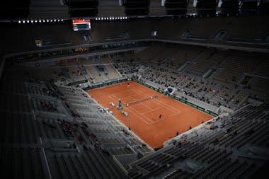 Roland Garros indoor: una nueva postal en el frío del otoño de París