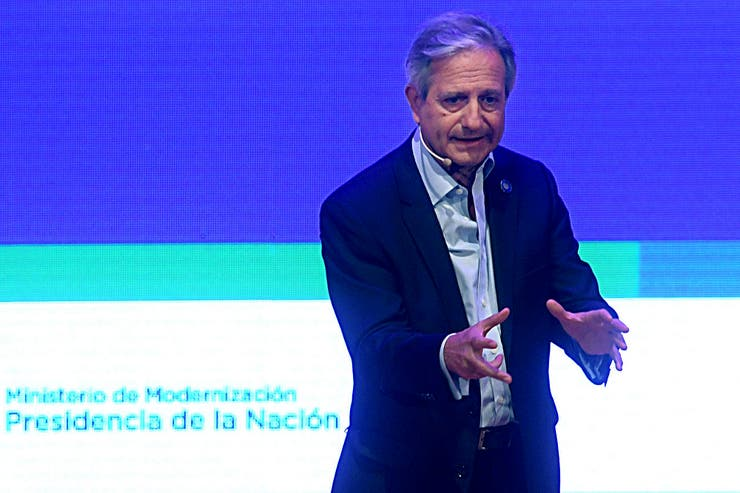 El ministro de Modernización, Andrés Ibarra, fue uno de los principales impulsores del acuerdo