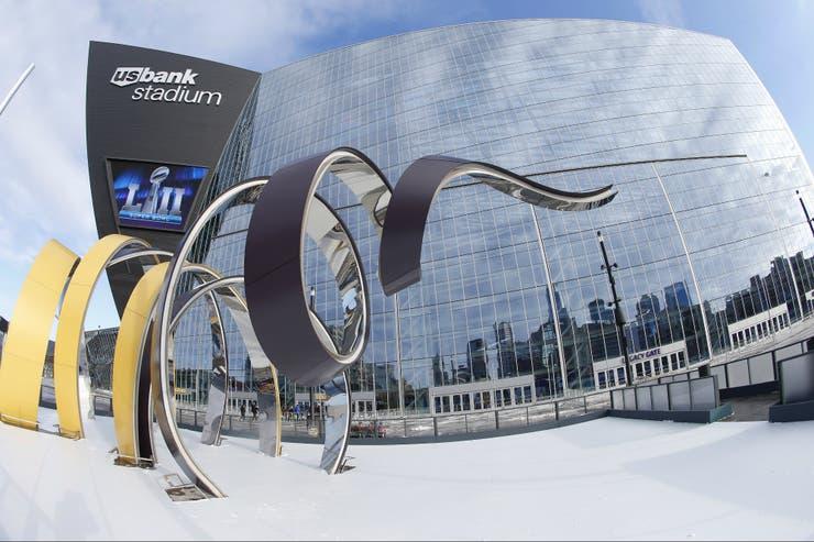 El estadio en el que se celebrará el próximo Super Bowl en Minneapolis