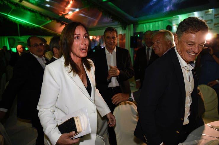 Vidal y el ministro Cabrera