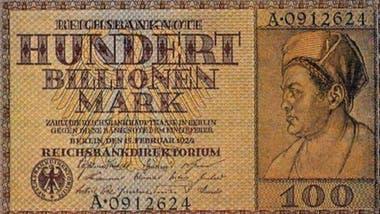 Después de la I Guerra Mundial el papel moneda perdió su valor en Alemania.