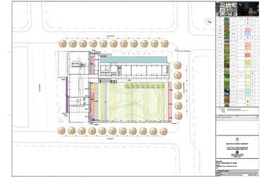 En planta: el diseño del exterior busca generar espacios verdes y ser la continuidad de los parques de la zona