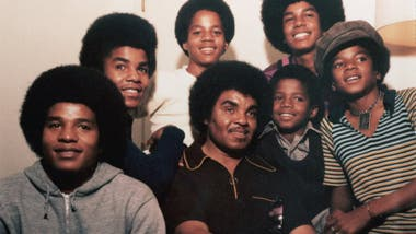 Joe junto a los The Jackson 5