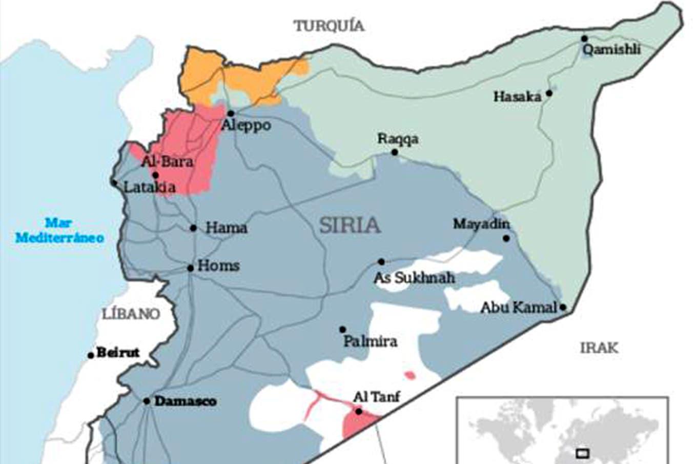 Estado Islamico Mapa Actual.El Mapa De Siria Puede Volver A Dibujarse La Nacion