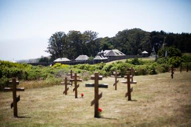 El cementerio ruso de Fort Ross, Jenner, California