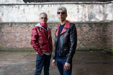 Mario Serra, exbaterista de Virus y Federico Moura: empezaron haciendo los clásicos de la banda de los 80 y ya tienen un disco con temas propios