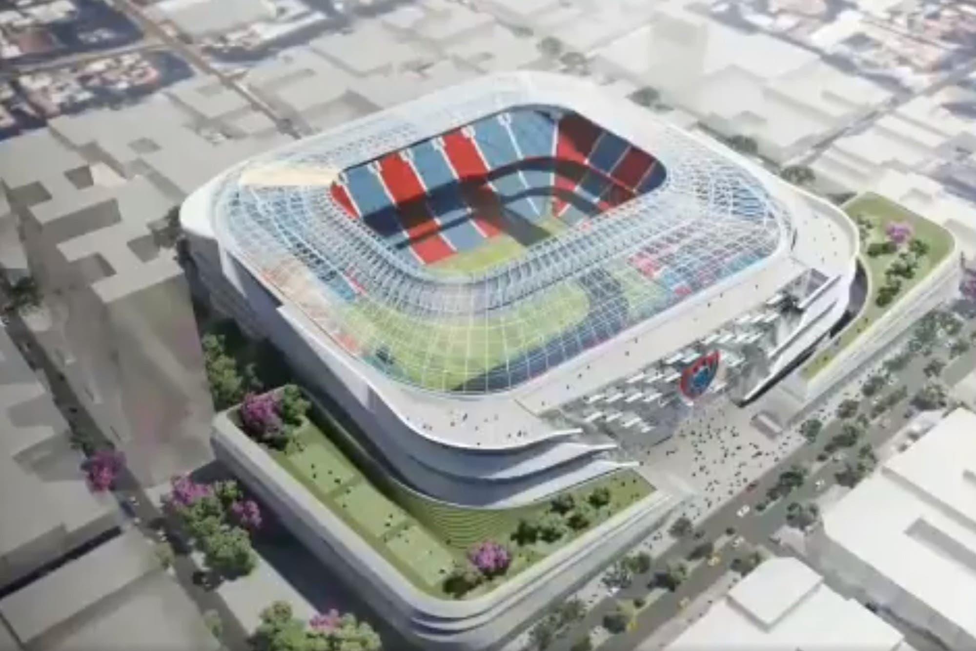 San Lorenzo: el proyecto de estadio que propone una lista opositora a Tinelli